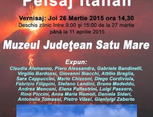"Virgilio Bardossi își expune ""Peisajul italian"" la"