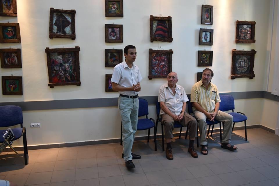 Expoziție de pictură semnată Aurel Țenț