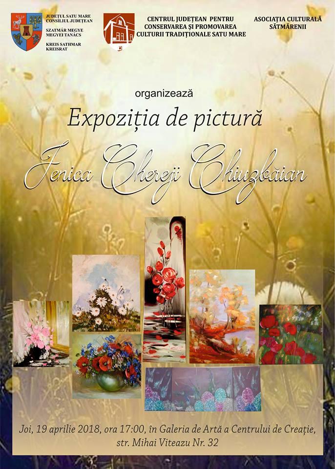 Expoziția de pictură Chereji Chiuzbăian Jenica
