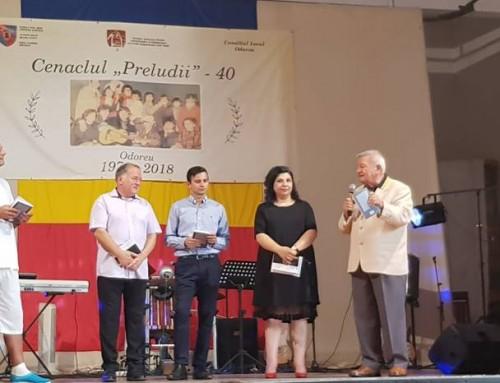 "Spectacol aniversar Cenaclul ""Preludii"" – 40"